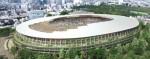 Kengo Kuma Tokyo 2020 Stadium rendering imagecredits courtesy kkaa.co