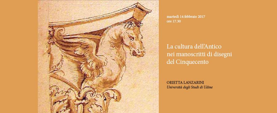 La cultura dell'Antico nei manoscritti di disegni del Cinquecento