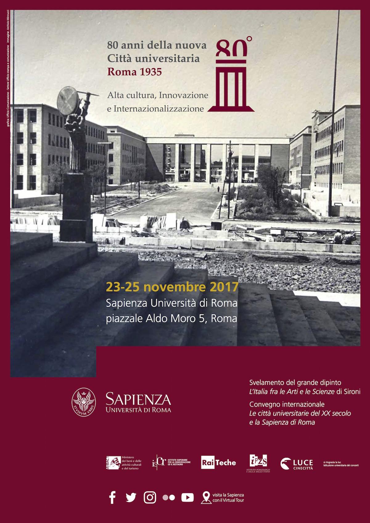 Le città universitarie del XX secolo