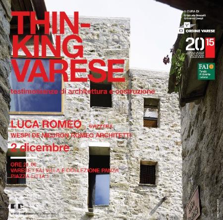 Luca Romeo Varese 2015