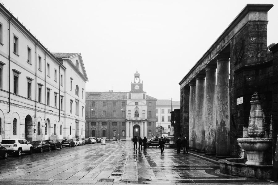 Monumento ai caduti Univ. Cattolica Foto di M. De Angelis