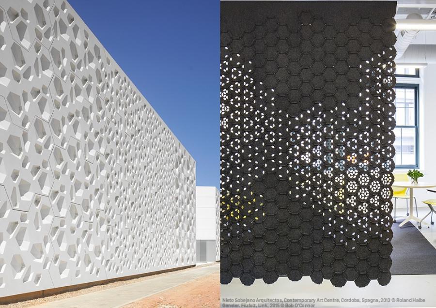 Nieto Sobejano Arquitectos Contemporary Art Centre Cordoba imagecredits Roland Halbe - Gensler Filzfelt Link imagecredits Bob O' Connor - - courtesy mudec.it