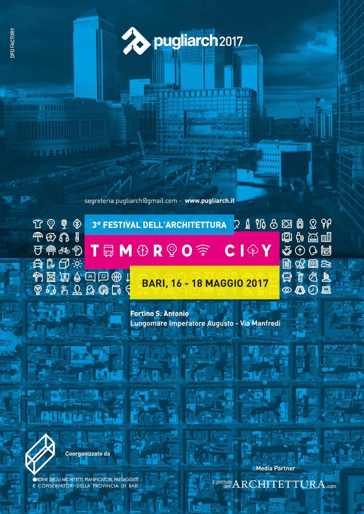 PUGLIARCH 2017-TOMORROW CITY