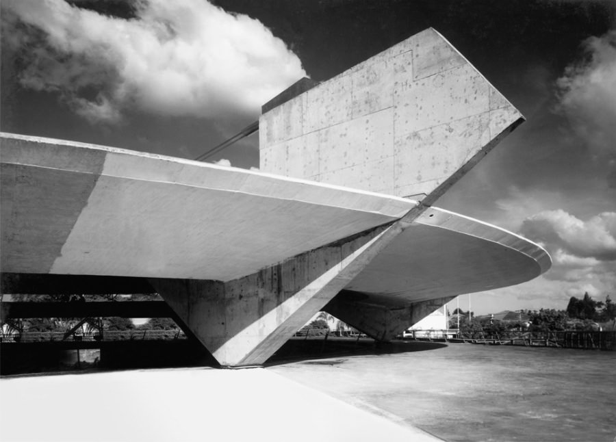 Paulo Mendes da Rocha Ginasio Paulistano Athletic Club © PMDR Archive courtesy architecture.com