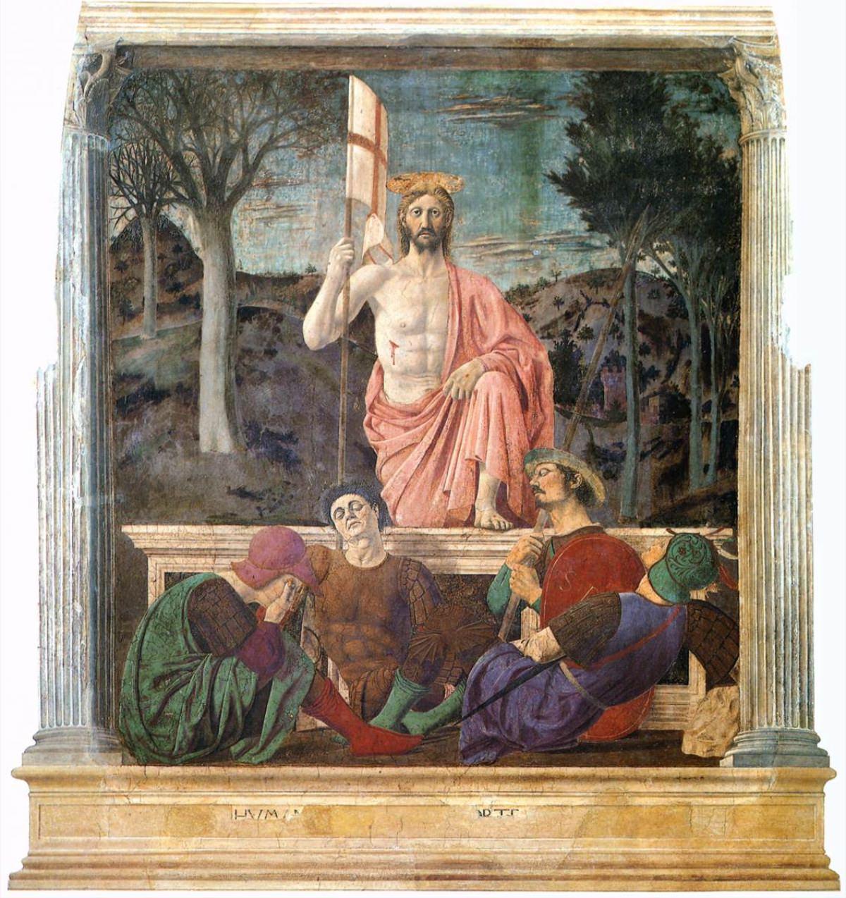 Piero della Francesca Resurrezione 1463 circa
