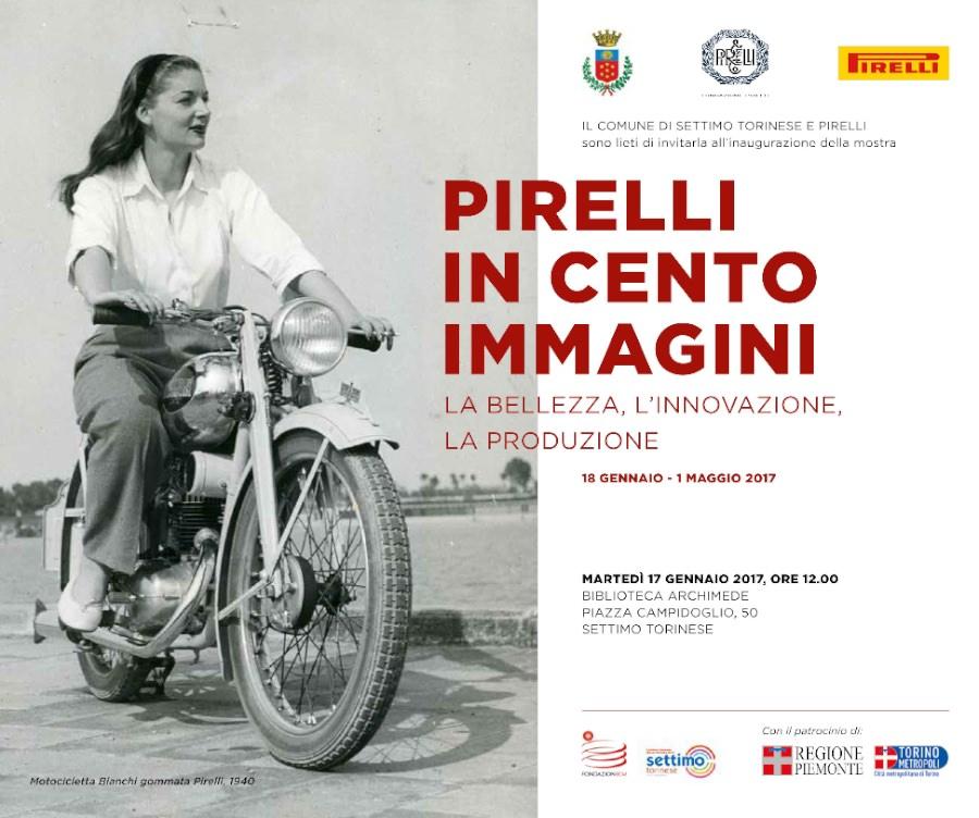 Pirelli in 100 immagini