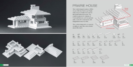 Prairie House from The Lego Architect site