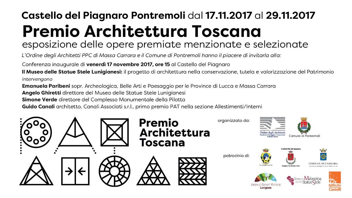 Premio Architettura Toscana 2017