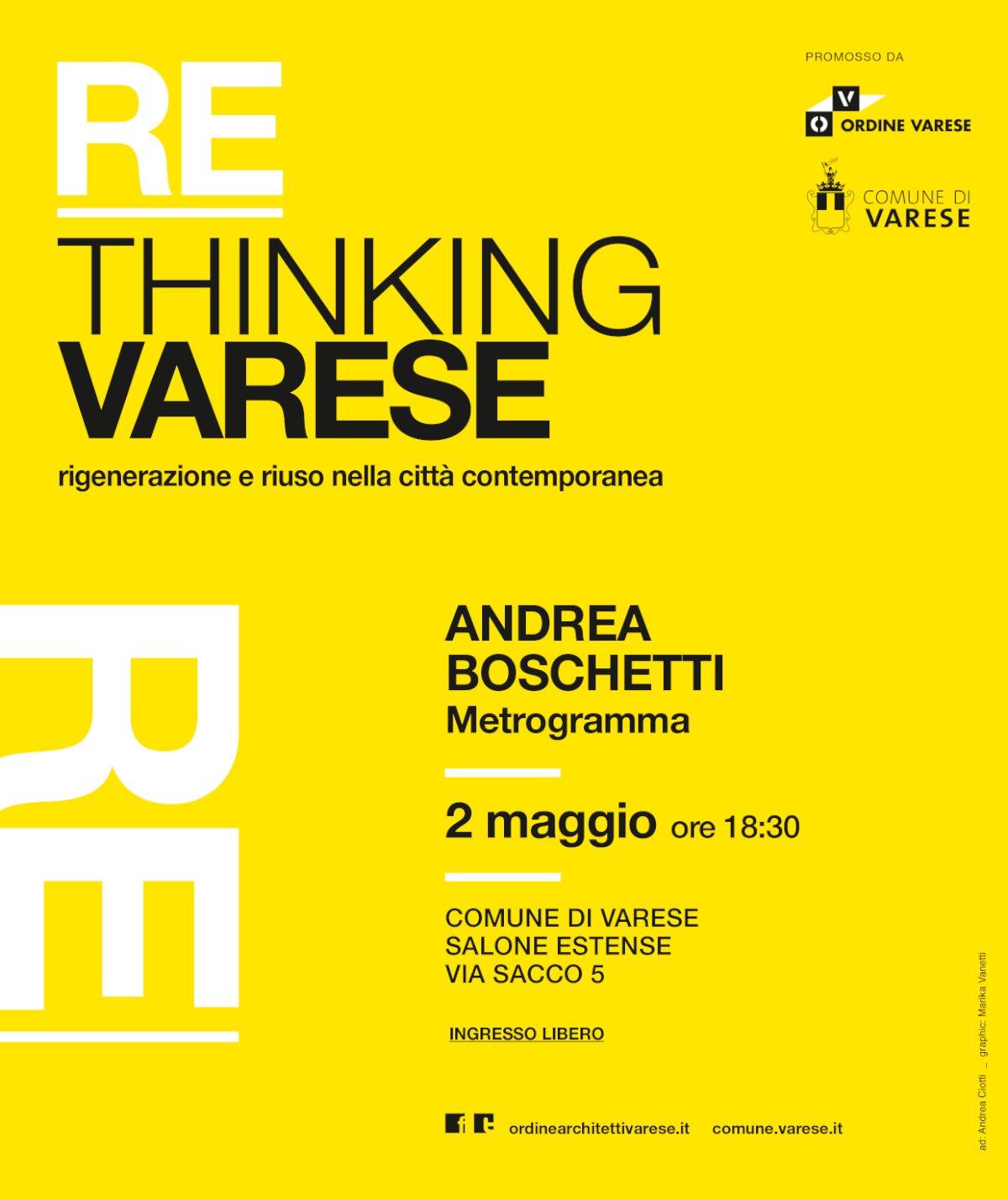 RE-THINKING - Andrea Boschetti maggio