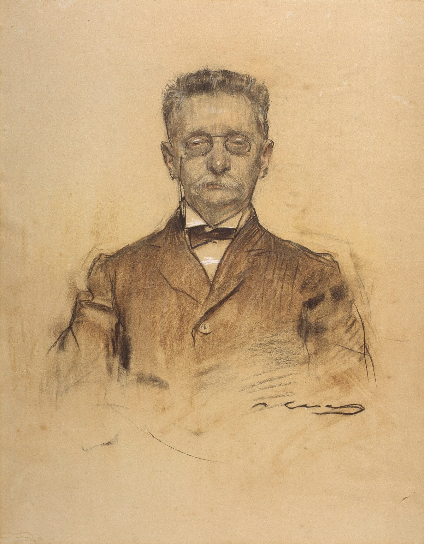 ramon-casas-ritratto-di-lluis-domenech-i-montaner