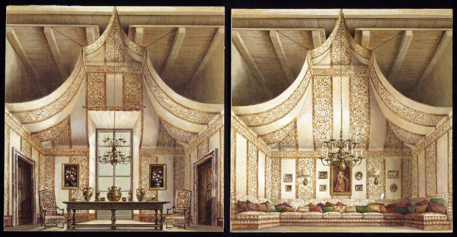 renzo-mongiardino-bozzetto-per-sala-tenda-di-romolo-paganelli-imagecredits-courtesy-milanocastello-it