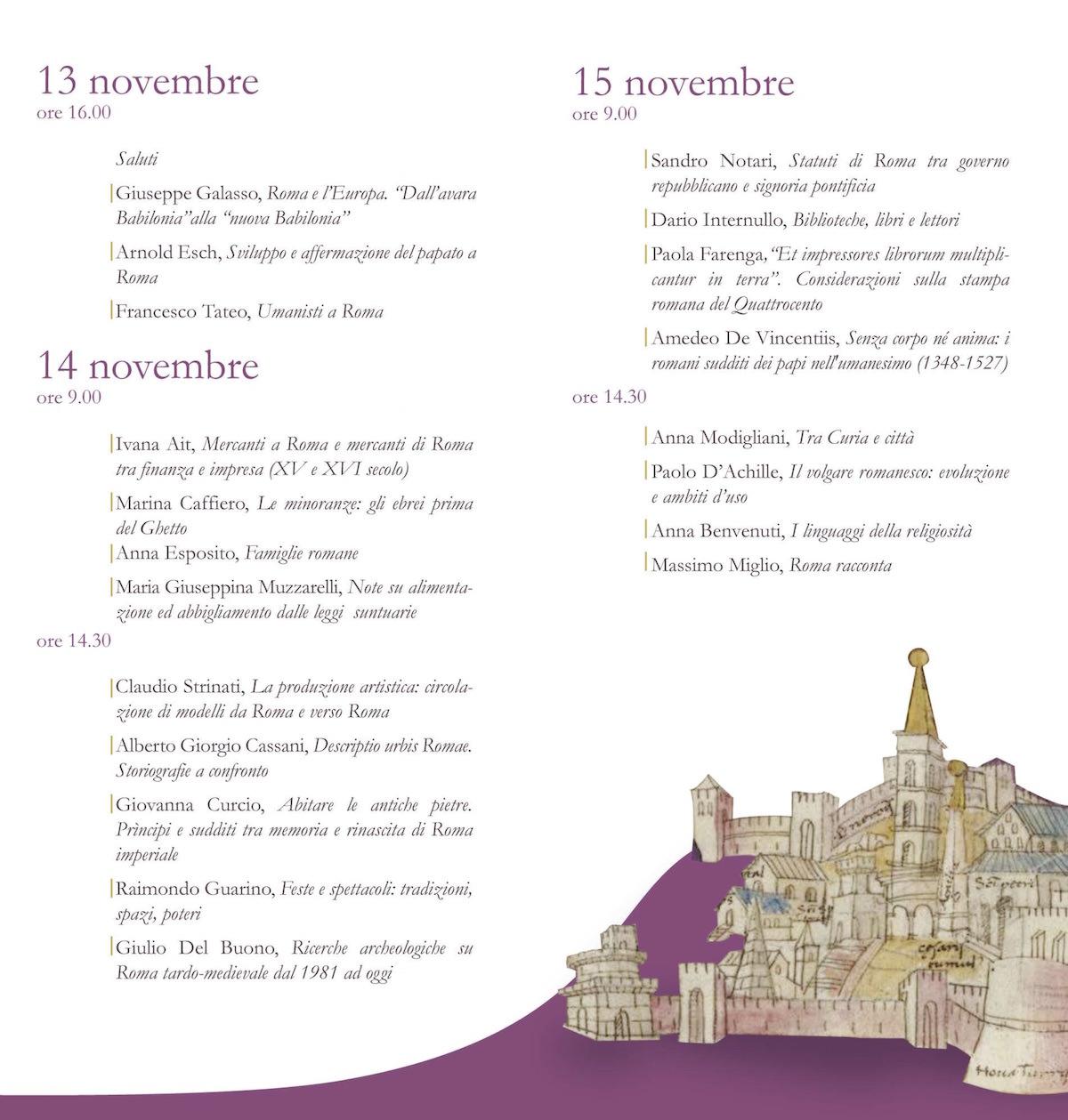 Roma_1347_1527_programma