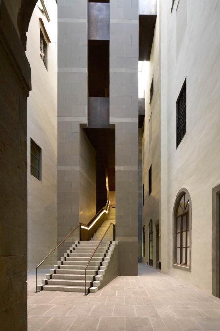 SINTER & Natalini Architetti scala di ponente degli Uffizi 2003-11 imagecredits courtesy spazioafirenze.it