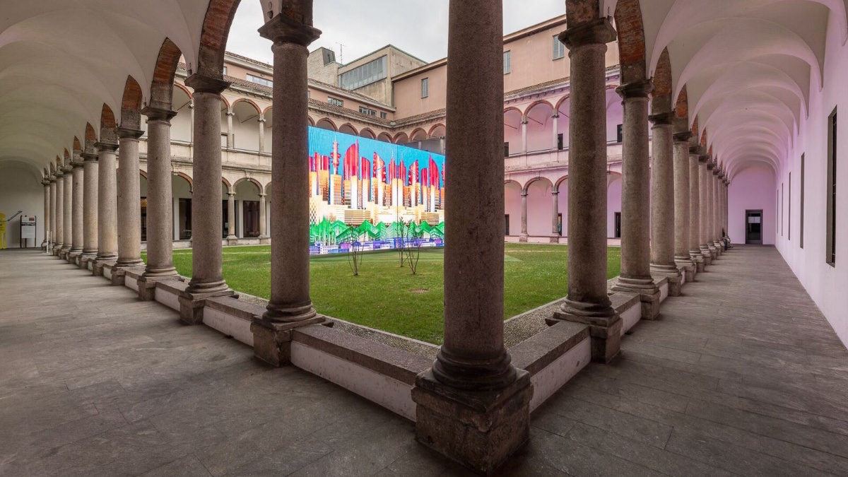 SPEECH, City DNA installation, Milan