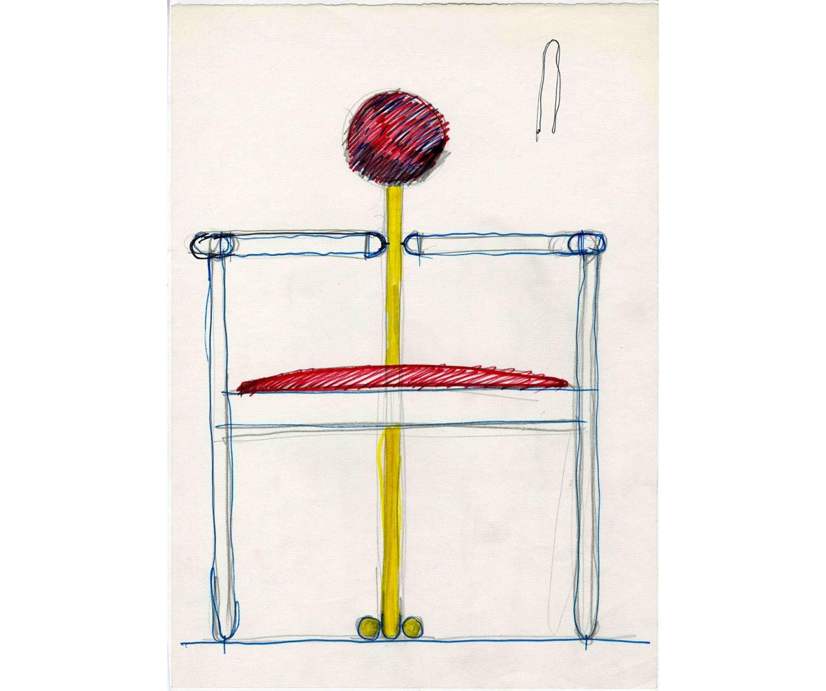 Sedia Pan, Rosenthal Studio-Linie, 1980 - crediti Fondazione studio museo Vico Magistretti