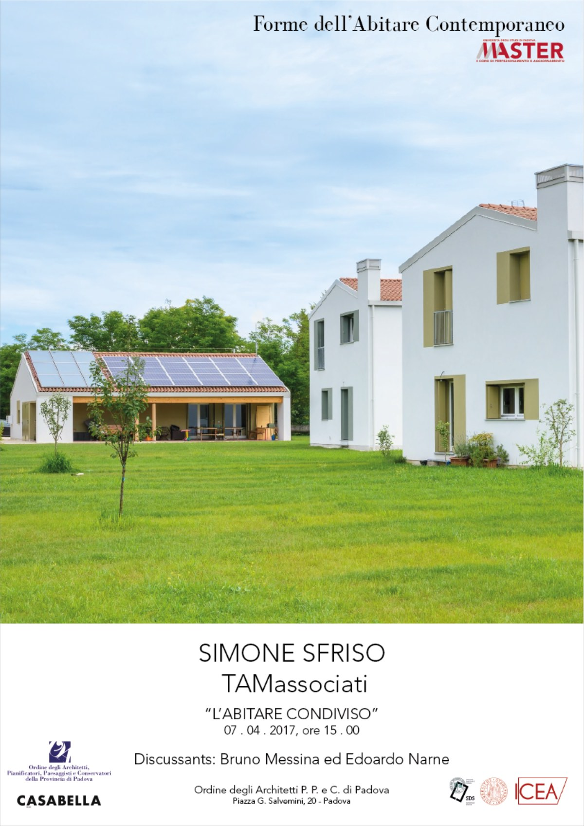 Simone Sfriso | TAMassociati PD