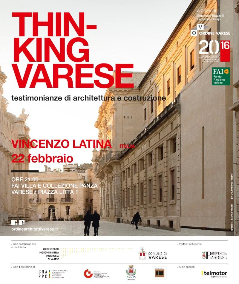 THINKING VARESE - VINCENZO LATINA