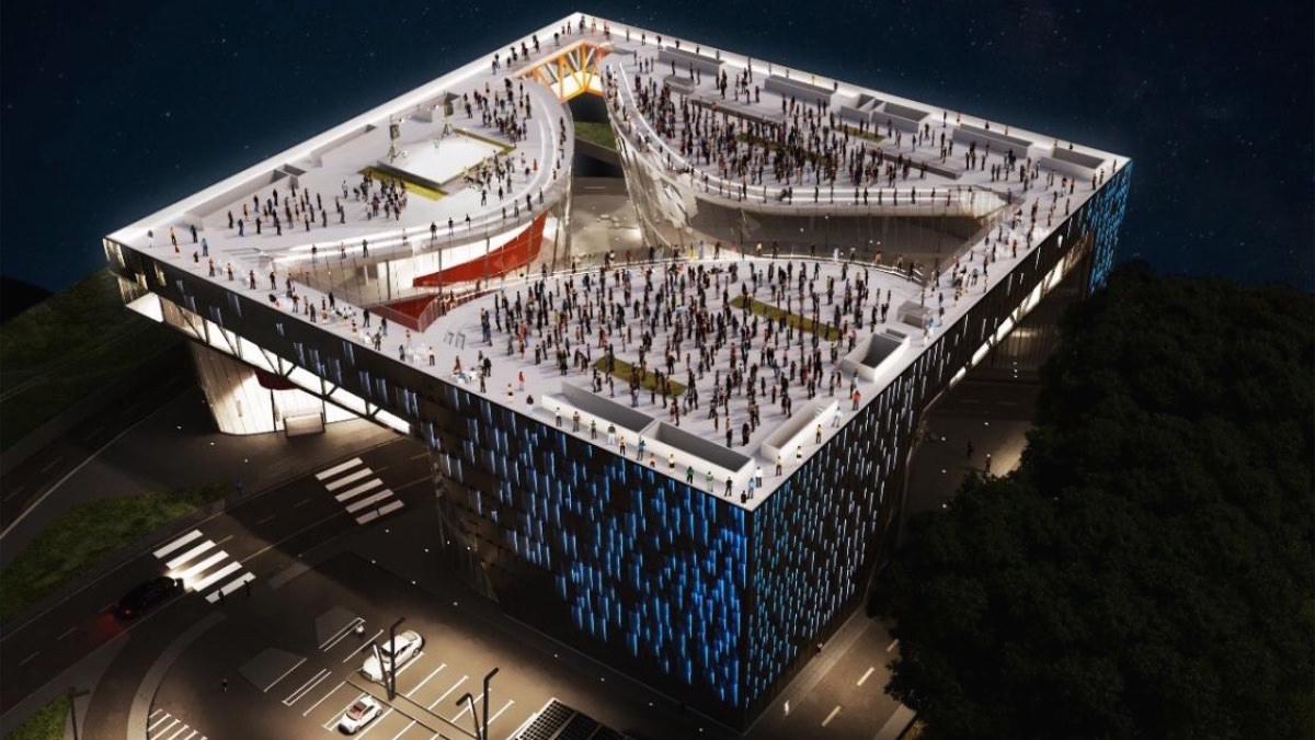 Urban Future Organization and FM Engineering, Messina Waterfront Polycenter, Messina