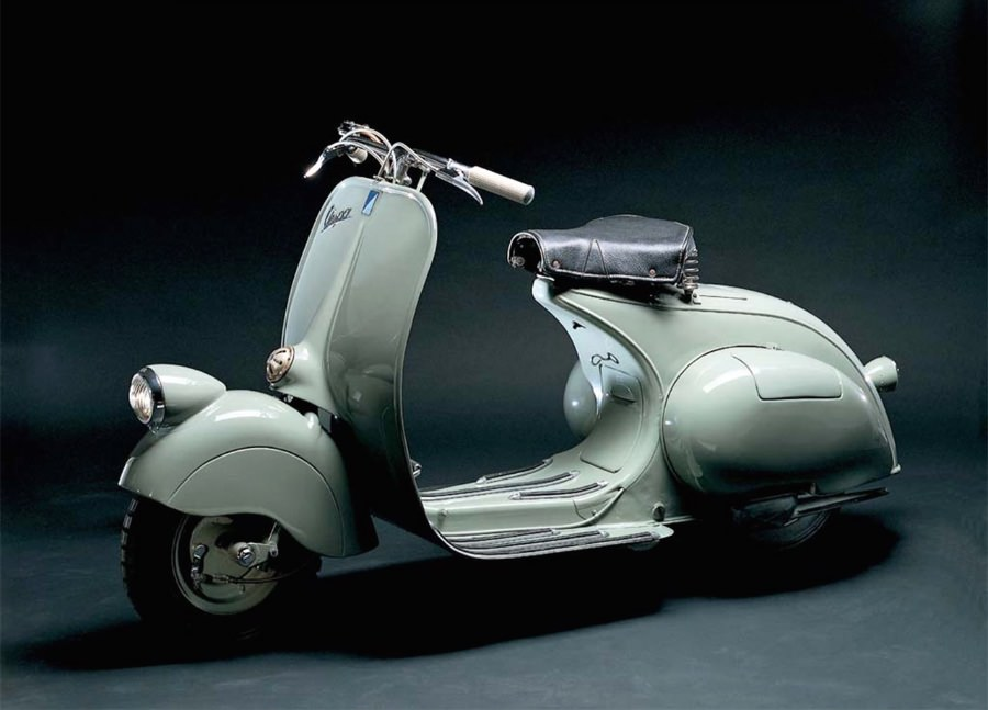 Vespa MP6 Piaggio mostra 50+! Il grande gioco dell'industria credits courtesy ied.it