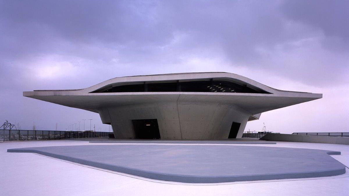 Zaha Hadid Architects, Salerno Maritime Terminal, Salerno