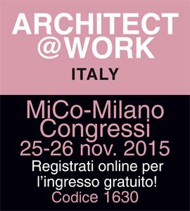 cliccare per maggiori informazioni su architect@work Italy