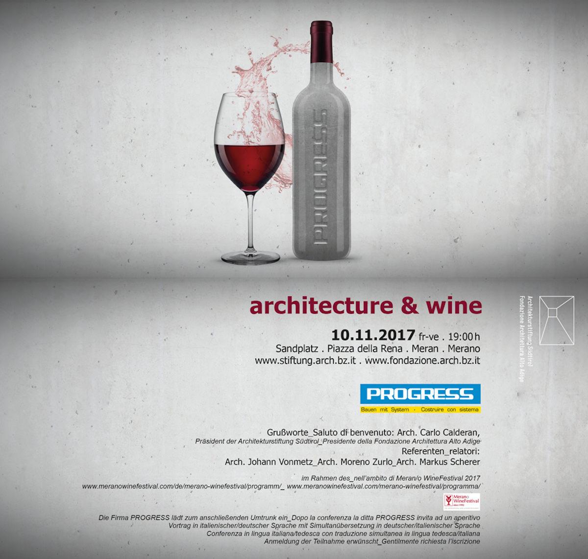 architecture & wine