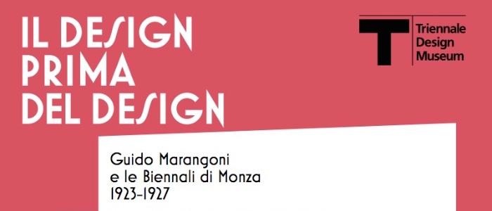 dall'invito Il design prima del design Guido Marangoni e le Biennali di Monza 1923-1927 imagecredits triennale.org