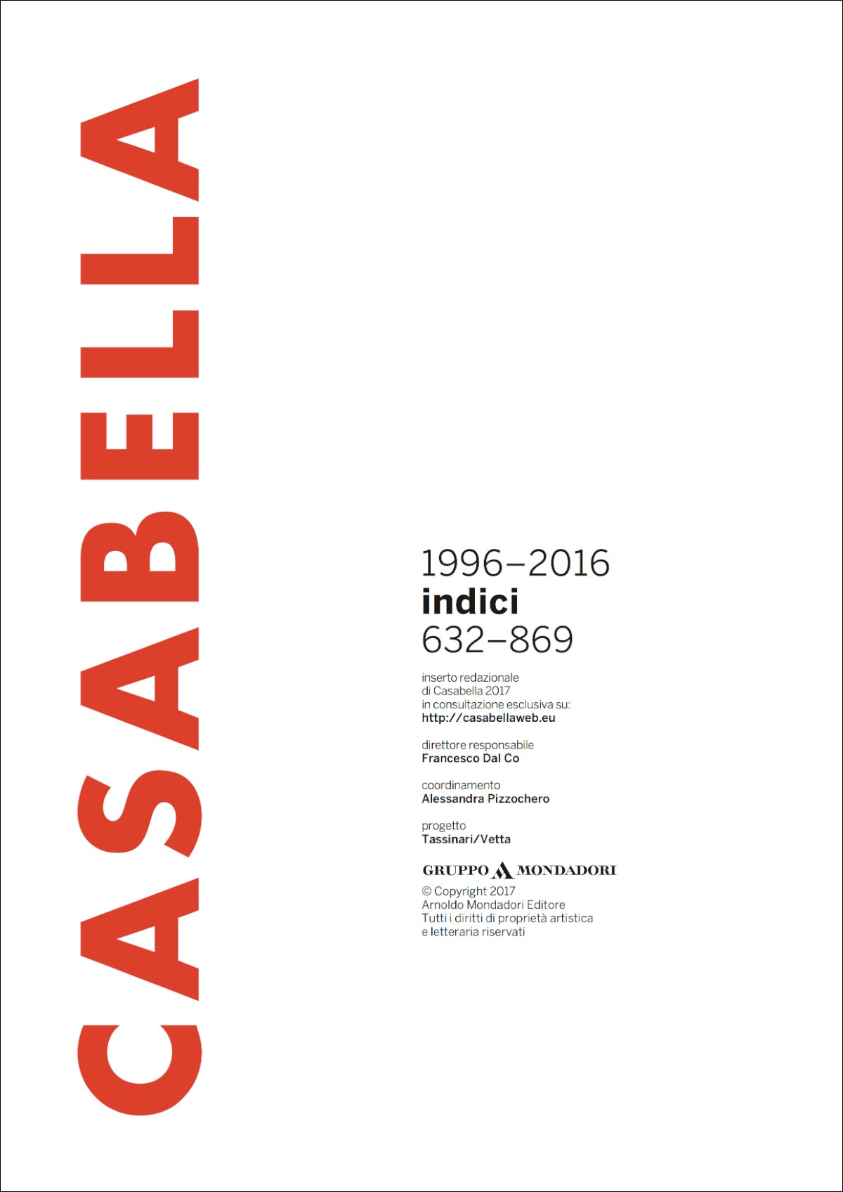 indici CASABELLA 1996-2016