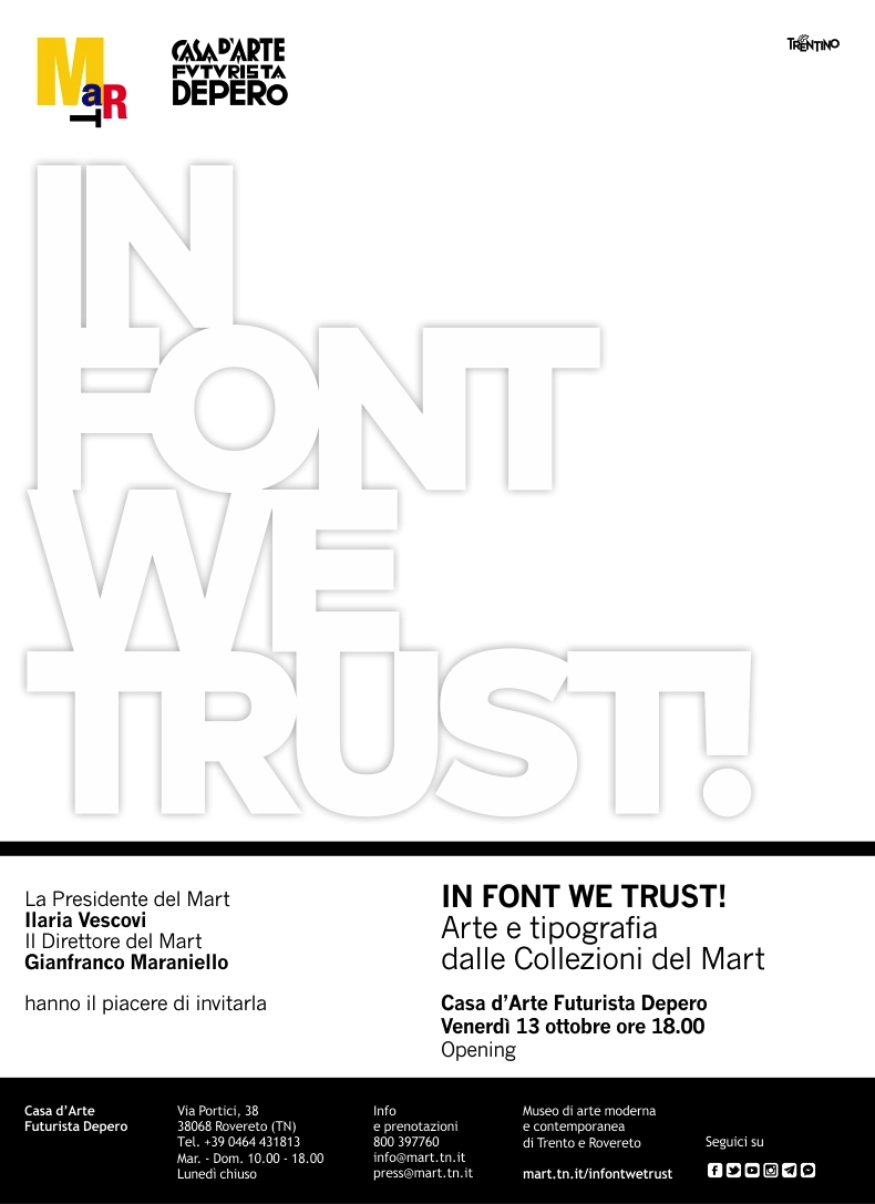 invito In font we trust!
