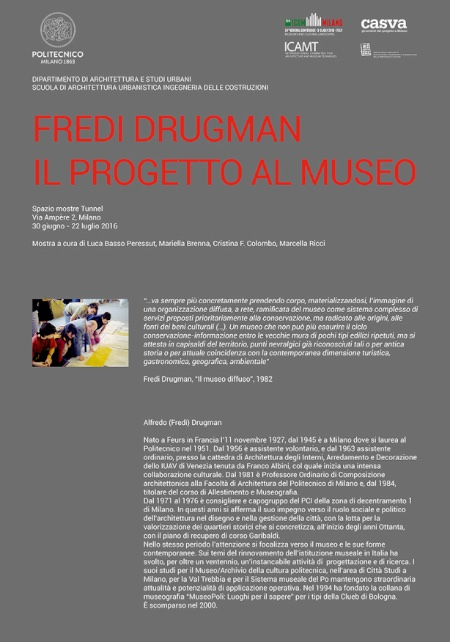locandina Fredi Drugman imagecredits polimi.it.