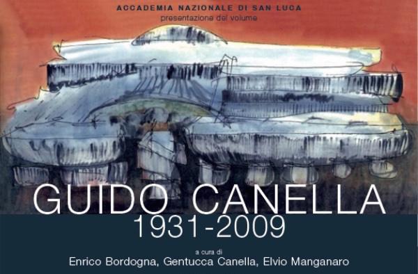 locandina Guido Canella 1931-2009 Roma imagecredits accademiasanluca.eu
