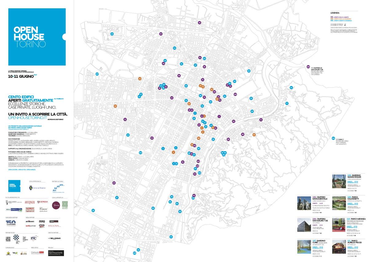 mappa OpenHouse Torino 2