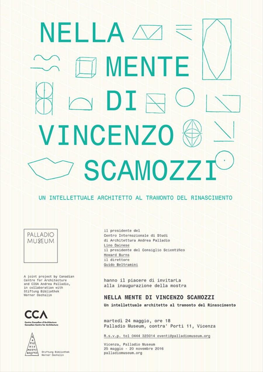 invito mostra Scamozzi Vicenza 2016  imagecredits palladiomuseum.org