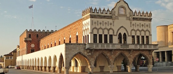 palazzo del governatore di Rodi credits Bernard Gagnon CC BY-SA 4.0