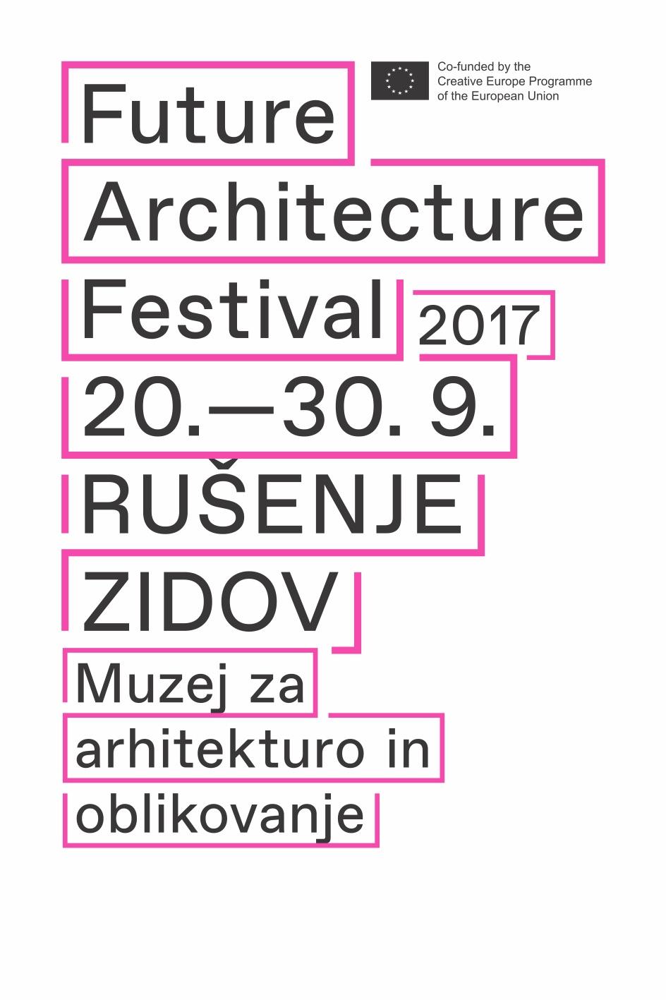 poster-Future Architecture Festival