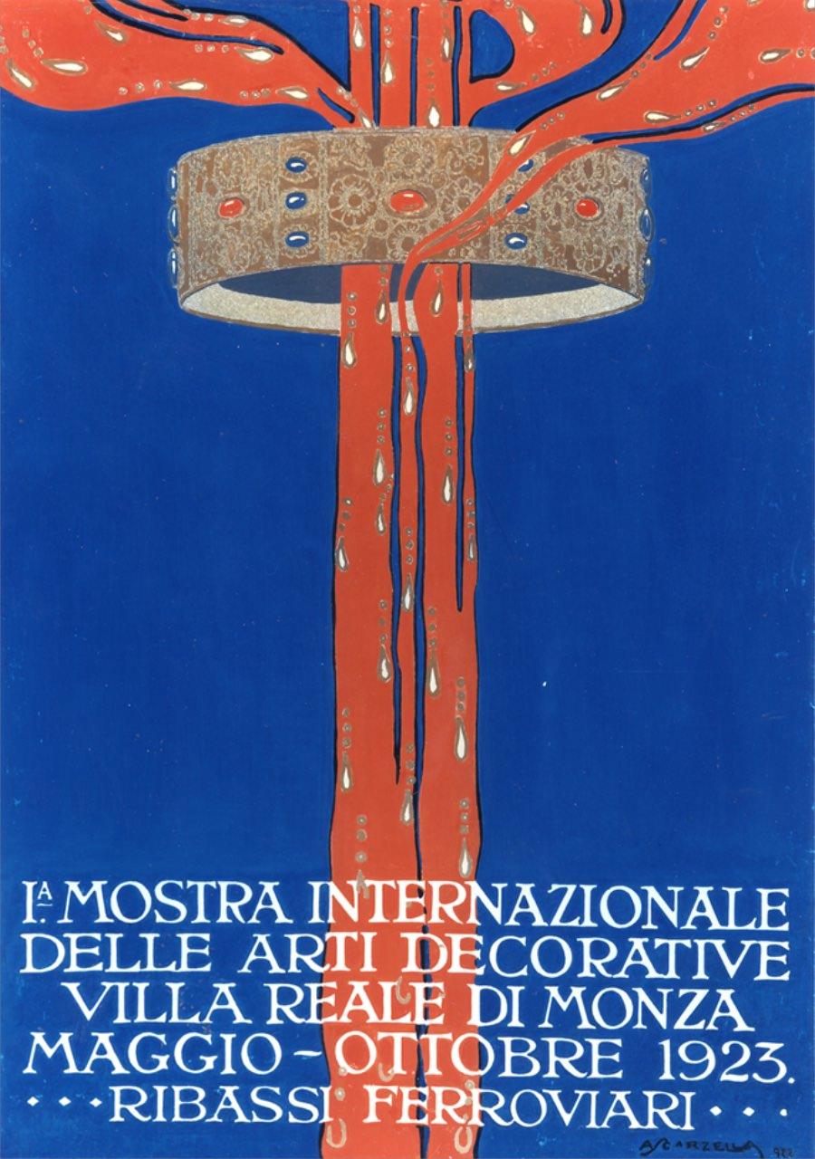 poster I mostra internazionale delle arti decorative imagecredits triennale.org