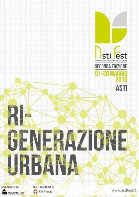 poster II Festival dell'Architettura Astigiano imagecredits astifest.it