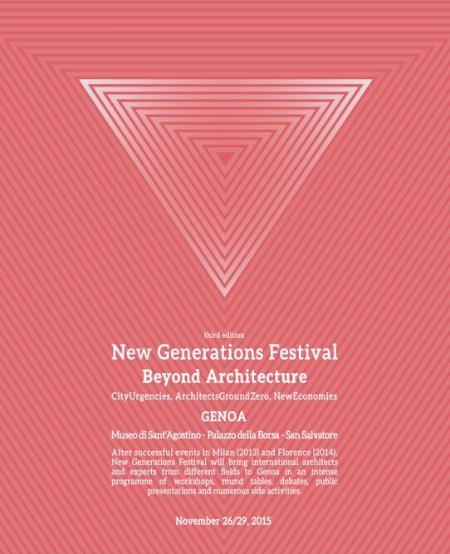 poster III New Generations Festival Genova imagecredits newgenerationsweb.com