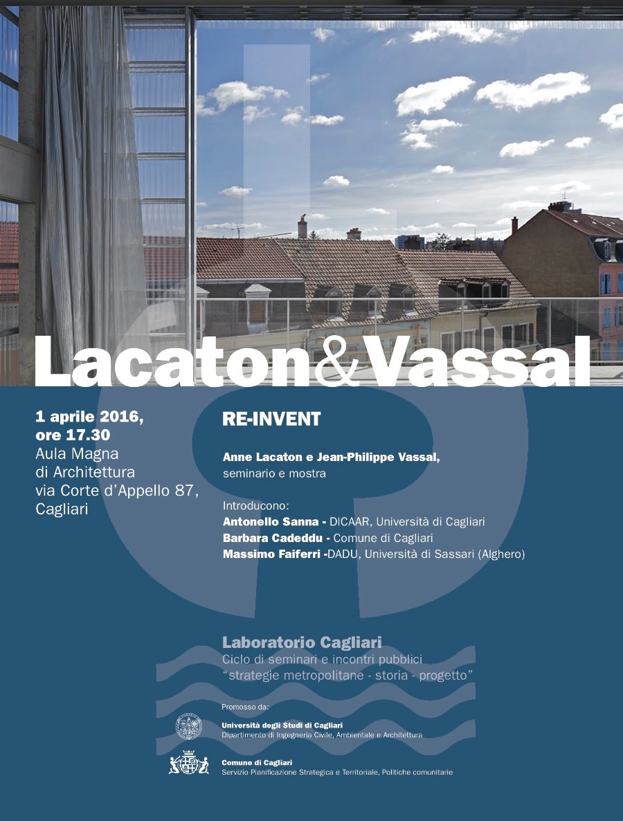 poster Lacaton & Vassal Cagliari imagecredits unica.it