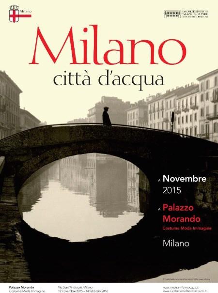 poster Milano, città d'acqua mostra 2015-16 imagecredits courtesy mostramilanoacqua.it